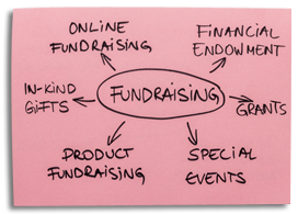 Fundraising Post-It